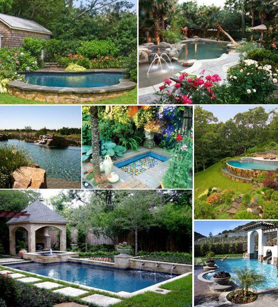 Hgtv Garden Design Ideas: Posh Pool Landscaping Ideas (http://blog.hgtv.com/design