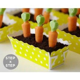 How To Make Mini Carrot Garden Cakes   CAKEGIRLS