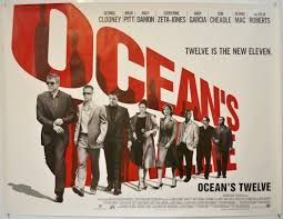 Ocean S 12 Poster Google Search With Images Oceans Twelve Poster Ocean