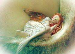 Angel, Sleeping, Dreaming, Sculpture