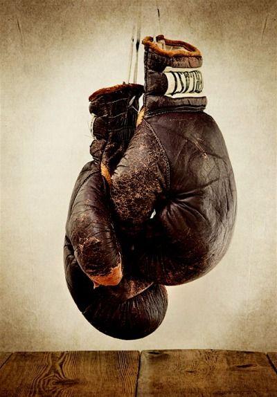 Vintage boxing gloves tatoo this pinterest vintage - Gants de boxe vintage ...