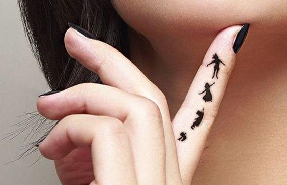 Peter Pan tattoo: