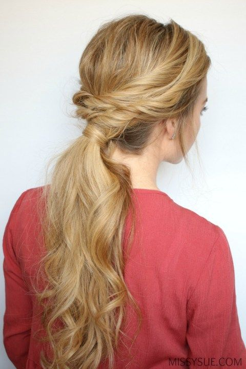 double-twisted-ponytail-tutorial: