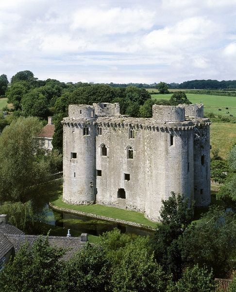 Nunney Castle in Somerset - UK
