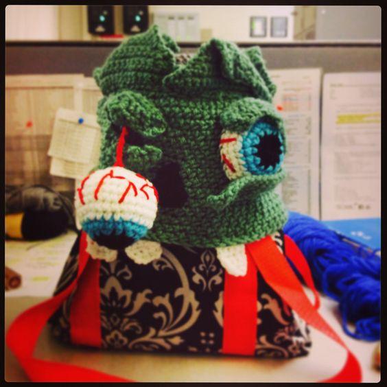 Crochet Zombie Hat : zombie crochet halloween crochet and more crochet hats zombies hats ...