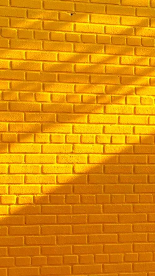 Wallpaper Backgrounds In 2020 Brick Wallpaper Iphone Yellow