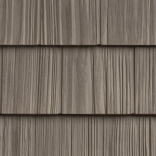This Is The One The Foundry Vintage Taupe Mitten Products Colors In 2020 Vinyl Shake Siding Vinyl Cedar Shake Siding Vinyl Siding