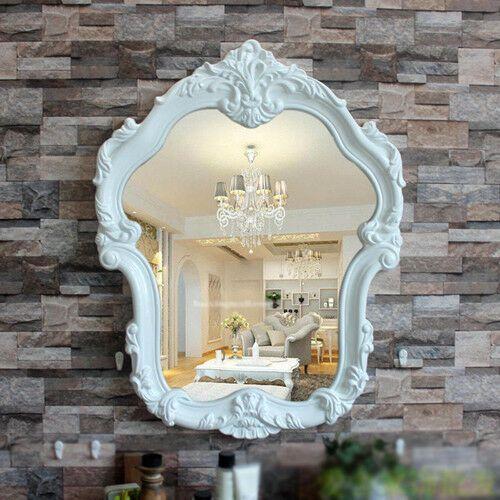 E43 European Retro Bathroom Toilet Vanity Wall Makeup Mirror Front Waterproof Y Fashion Home Garden Homed Retro Bathrooms Toilet Vanity Bathroom Ornaments