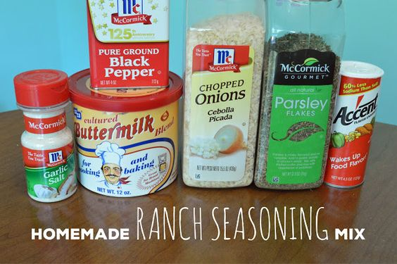 Use this mix to make a quick dressing or dip. Or use it in recipes that call for dry ranch seasoning mix. Try it on chicken, potatoes, popcorn - the possibilities are endless!