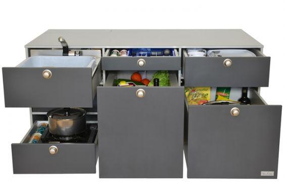 VanEssa Mobilcamping - Camping Ausbau für Deinen Van - T5, T6, Mercedes u.v.m.-Die mobile Küche für deinen T5/T6