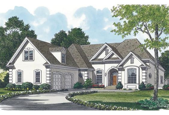 House Plan 3323-00147 - Traditional Plan: 3,459 Square Feet, 6 Bedrooms, 4.5 Bathrooms