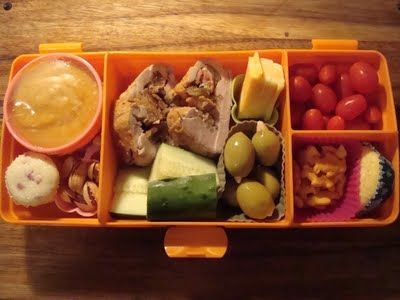 Yummy leftovers - big lunch!