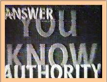 Opruiende, verborgen, boodschappen in TV beelden SBS 6 gevonden en op camera vastgelegd!