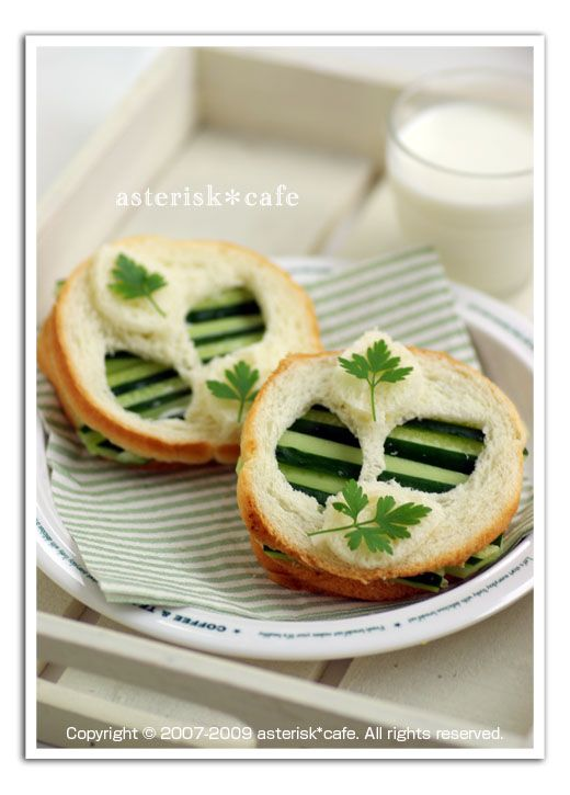 Cucumber tea sandwiches, Tea sandwiches and Teas on Pinterest