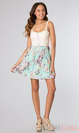 Short Dress Style: CT-4284EE8C Detail Image 1