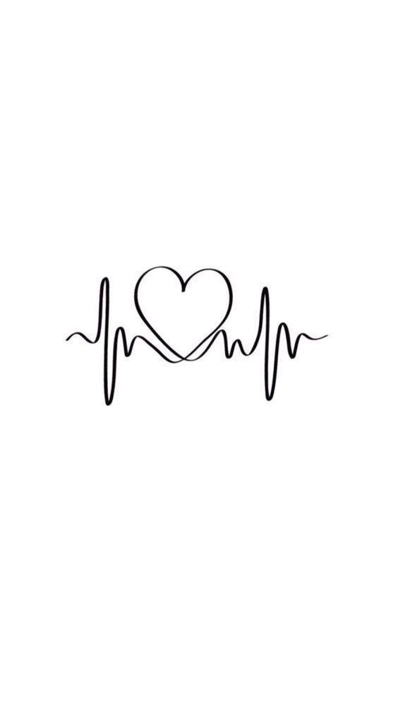 Heart Wallpaper Black And White