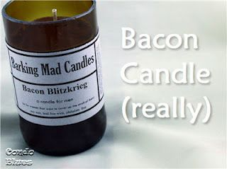 soy candles that smell like bacon!