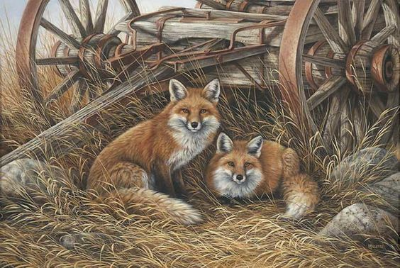 """""""Rustic Retreat-Red Fox"""" - Rosemary Millette"""