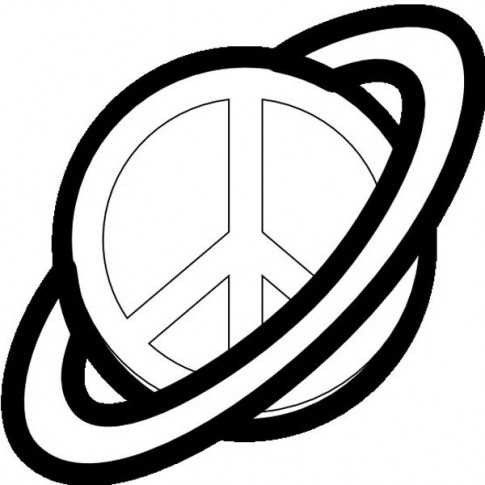 51 Peace Sign Coloring Pages For Kids