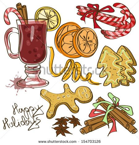 stock-vector-set-of-isolated-icons-with-ingredients-for-mulled-wine-cocktail-and-christmas-cookies-154703126.jpg 450×470 pixels: