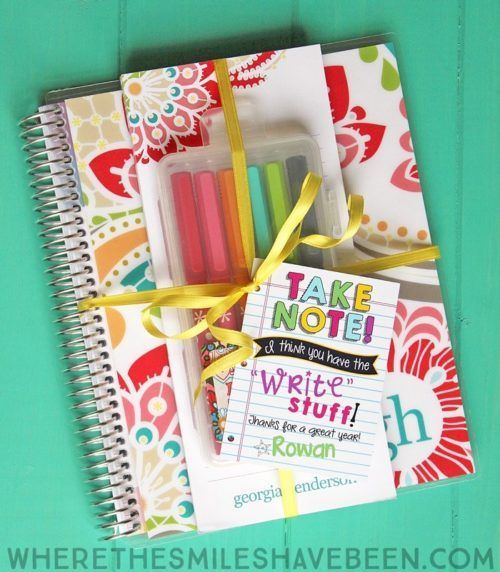 Punny Teacher Gifts With Printables Best Teacher Gifts Teachers Diy Teacher Gifts