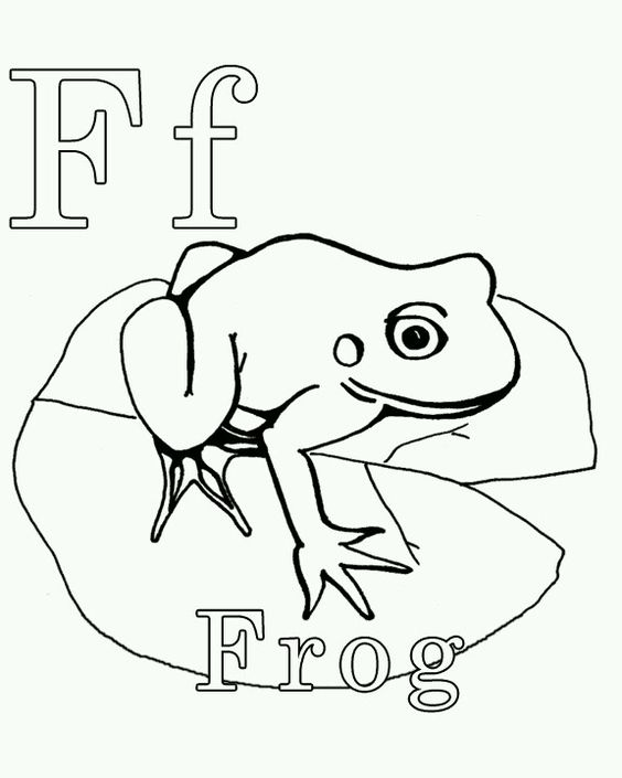Coloring pages Coloring and Frogs