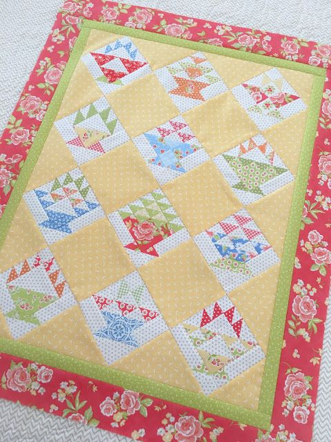 Carried Away Quilting: My Sew Sampler Basket Quilt top is complete!