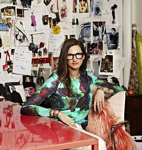 Jenna Lyons is a genius! Her effortless cool and classic style is an inspiration!  - Dean