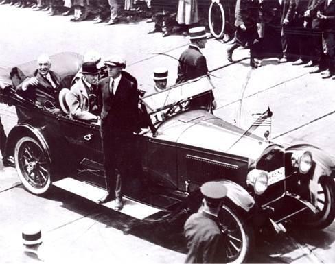 President Warren G. Harding, Delaware, June 1923