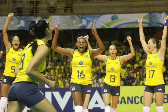 São Carlos, Brazil, May 13, 2012 – The Brazilian women's team earned their ticket to defend their title at this summer's Olympic Games in London when they beat Peru 3-0 (15-12, 25-16, 25-9) in the final of the CSV Women´s Continental Olympic Qualification Tournament at the Milton Olaio Filho Gymnasium in São Carlos, Brazil on Sunday.