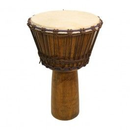 "Djembe, 13"" x 24"", Mango Wood, Light $148.90"