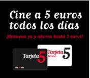 ¡Vente al cine por tan sólo 5€ todos los días, todas las sesiones y todas las películas durante un año con Cinesur y la Tarjeta5!   Consulta cartelera aquí: http://goo.gl/XfGd6f