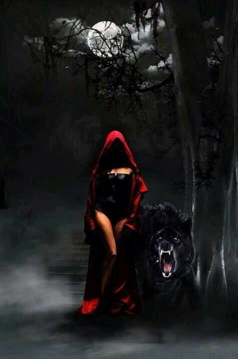 One Man S Journey Red Riding Hood Little Red Art