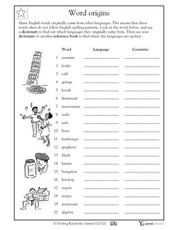 Using A Thesaurus Worksheet Photos - pigmu