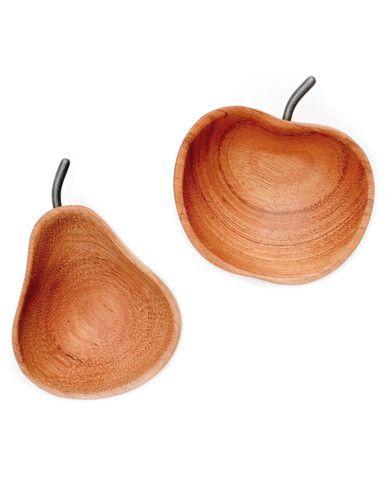 Apple & Pear Pinch Bowl Set