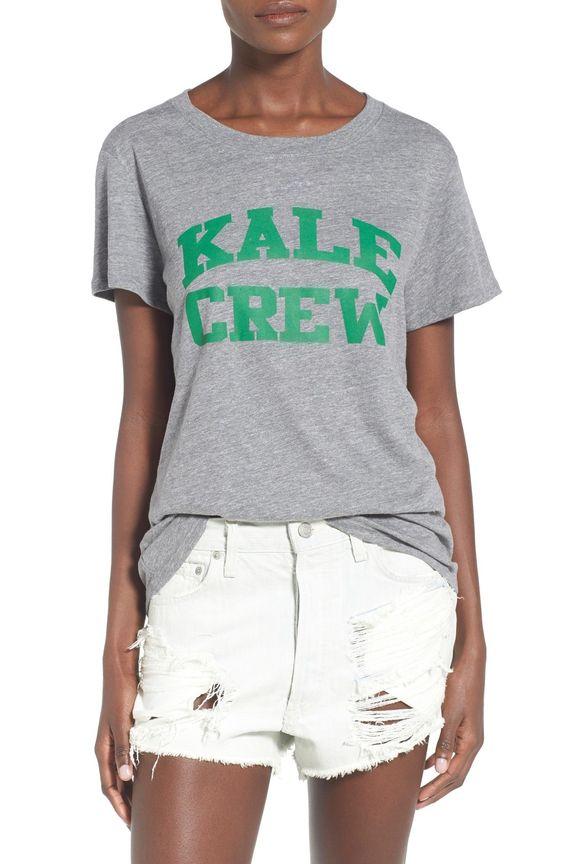 cute 'kale crew' tee