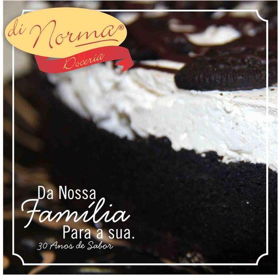 Boa tarde, a Di Norma deseja á todos um ótimo final de semana!! Torta Orion!!! #DiNorma I #love #cake
