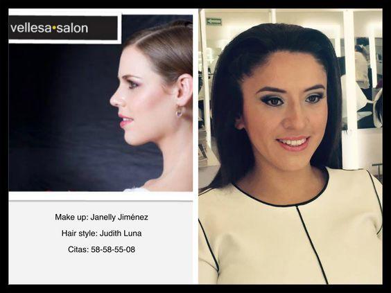 Nuestra clienta nos pidió algo sutil y discreto.  #vellesasalon #judithluna #janelly #luzma #makeup #hair #cortes #peinados #maquillajes