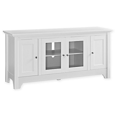 Forest Gate Wood Tv Media Console With Images Tv Stand With