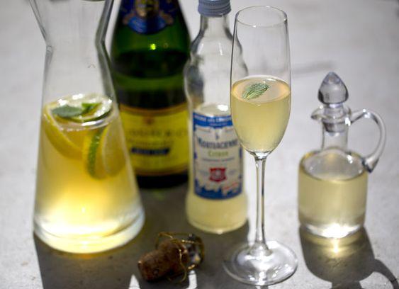 Champagner Sangria