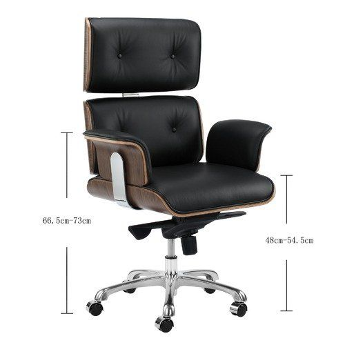 Eames Premium Leather Replica Executive Office Chair Best Office