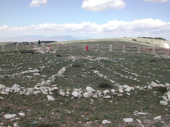 Bighorn Medicine Wheel, Powell, WY recognized as a place of spiritual power and scared to several Native American groups.