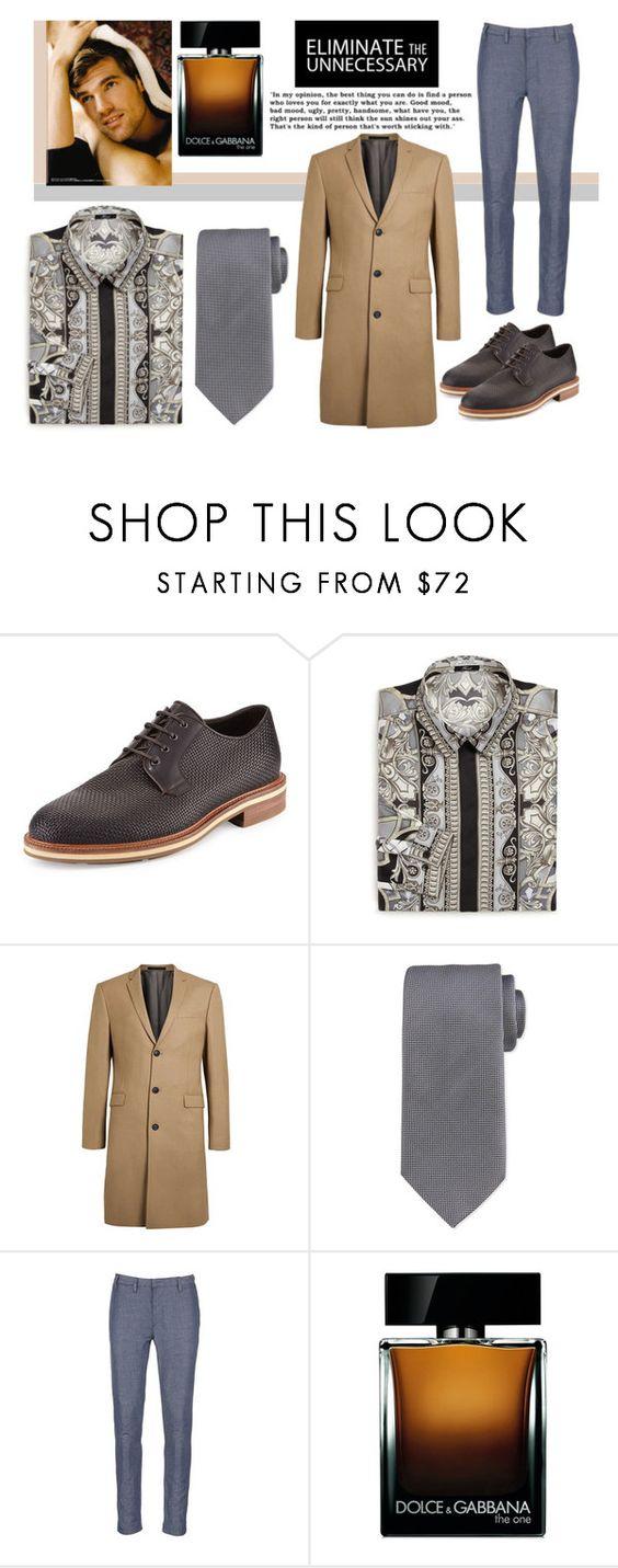 """Men's Spring Style"" by gabrilungu ❤ liked on Polyvore featuring Ermenegildo Zegna, Versace, Topman, Scotch & Soda, Dolce&Gabbana, mens, men, men's wear, mens wear and male"