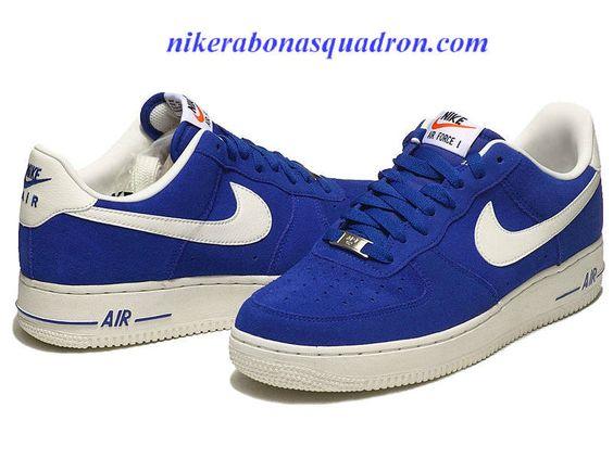 Nike Air Force 1 Suede Blazer Pack Hyper Blue Sail 488298 414