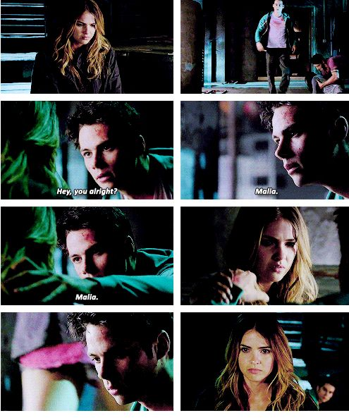 And episode kiss time malia stiles first Season 6: