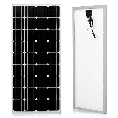 Cheap Dokio 100 Watts 12 Volts Monocrystalline Solar Panel Solar Panels Solar Panels For Home Best Solar Panels
