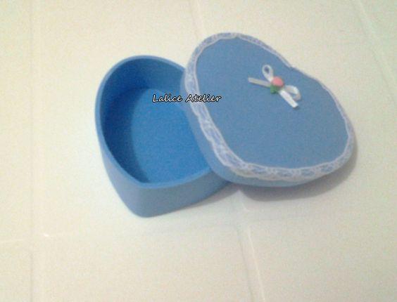 Caixinha Coração em EVA  #lembrancinha #15anos #casamento #lembrancinha15anos #lembrancinhacasamento
