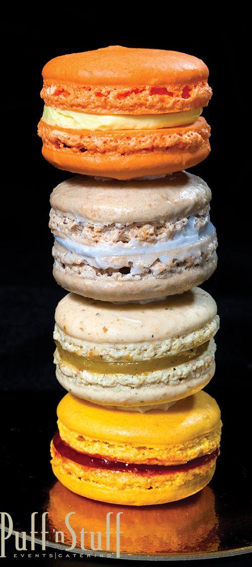 Macarons | Puff 'n Stuff Catering | John Unrue Photography | #desserts