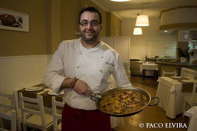 PACO ELVIRA: Asturias. Bruno Méndez Lombán y su restaurante Quince Nudos en Ribadesella