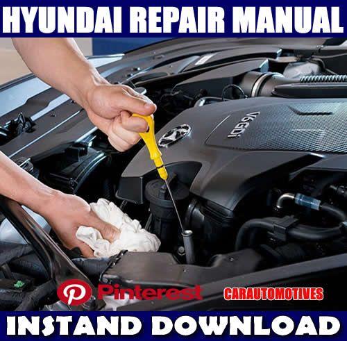 Hyundai Accent 2000 2001 2002 2003 2004 2005 Workshop Service Repair Manual Hyundai Repair Manuals Hyundai Accent